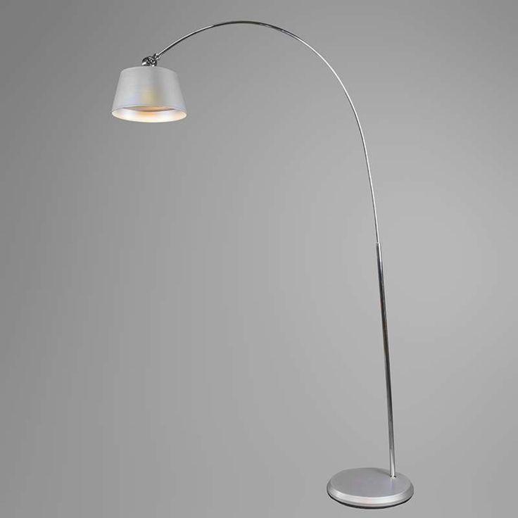 Arc Lamp LED Silver - lampandlight.co.uk