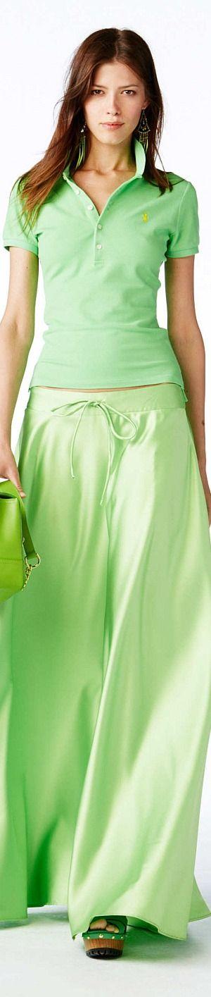 Color fashion Glam     ...                                           Polo Ralph Lauren - Spring 2015 RTW