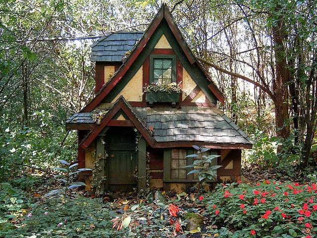 Ok, I have a lot of tiny houses in my dreams but this one is calling me! fairy house 1 by indisguise