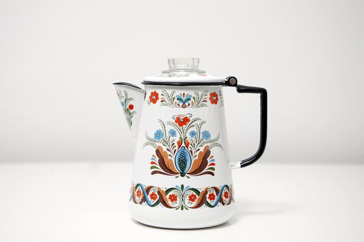 vintage Scandinavian percolator