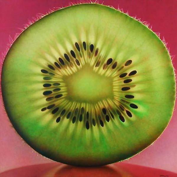 Amazing kiwifruit Painting :o