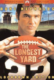 The Longest Yard (1974), Paramount Pictures, Burt Reynolds (Paul Crewe) and Eddie Albert (Warden Hazen).