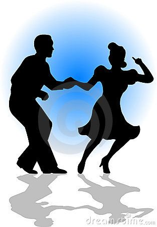 Swing Dancing Couple/eps