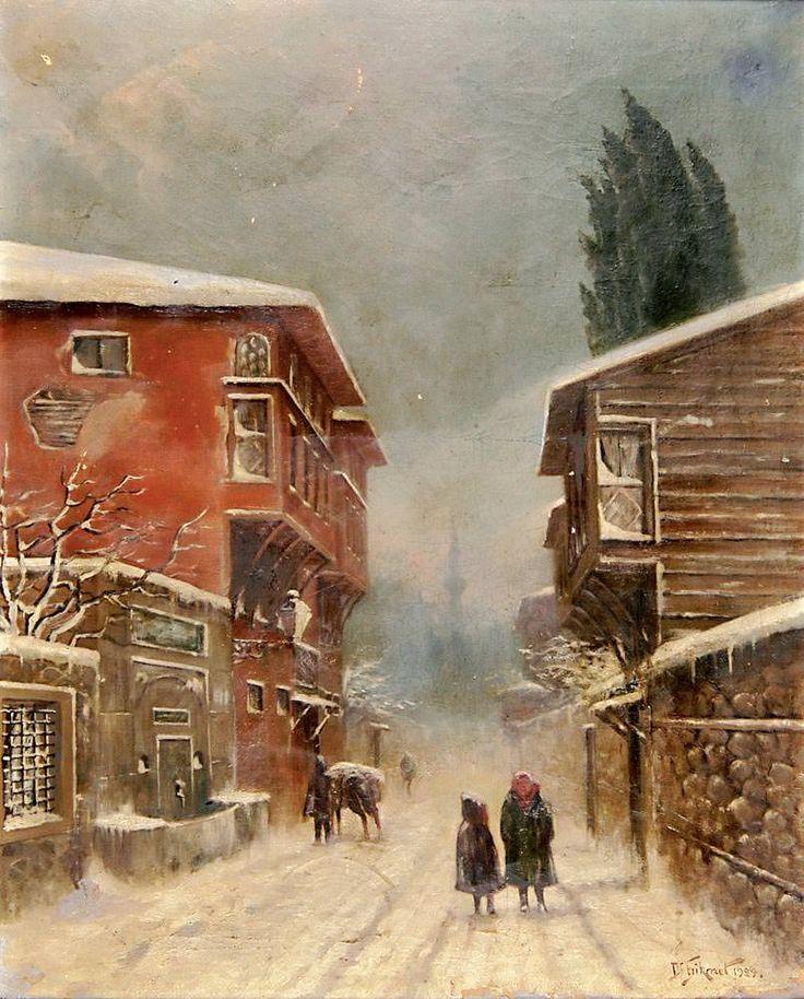 Dr. Hikmet Hamdi İstanbul`da Kış