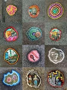 Ben Wilson - Chewing Gum art http://restreet.altervista.org/ben-wilson-dipinge-sulle-gomme-da-masticare/