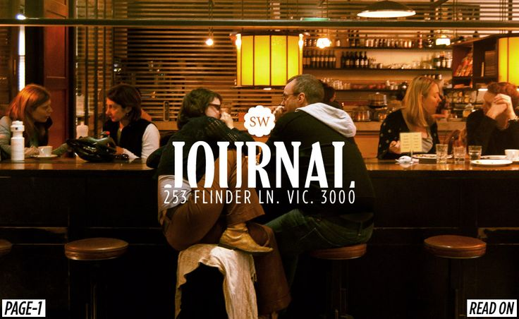 Journal has coffee that lives up to Melbournians high standards. Grab a cup and people watch the eclectic patrons at a café that will take you back to Old Melbourne.