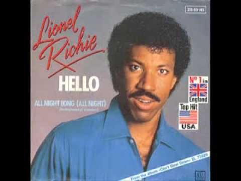 1983 - Lionel Richie All night Long  - huge hit from his 2nd solo LP - Can't Slow Down