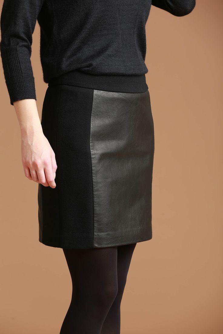 25 best ideas about lederrock schwarz on pinterest. Black Bedroom Furniture Sets. Home Design Ideas