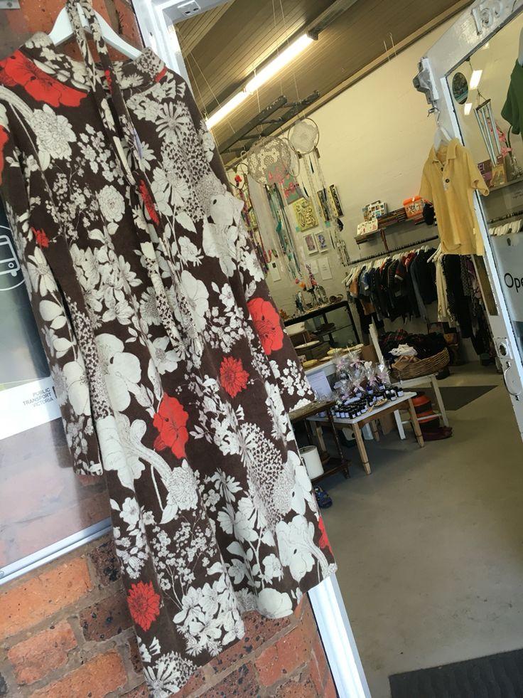 Vintage 1970's Pure Wool Dress $ 75 at Preloved Tecoma.