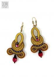 Juno unique boho style dangle earrings by Dori Csengeri