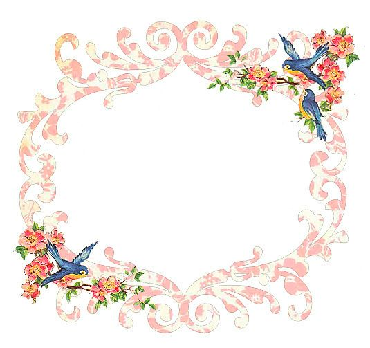 Vintage Frame 19 by Free Pretty Things For You!, via Flickr