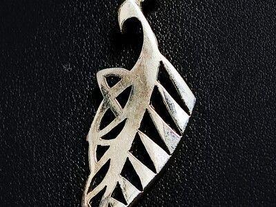 Celtic silver fern  steinerjewellery.com