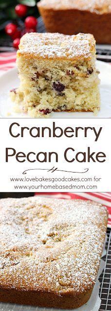 Cranberry Pecan Cake | Recipe