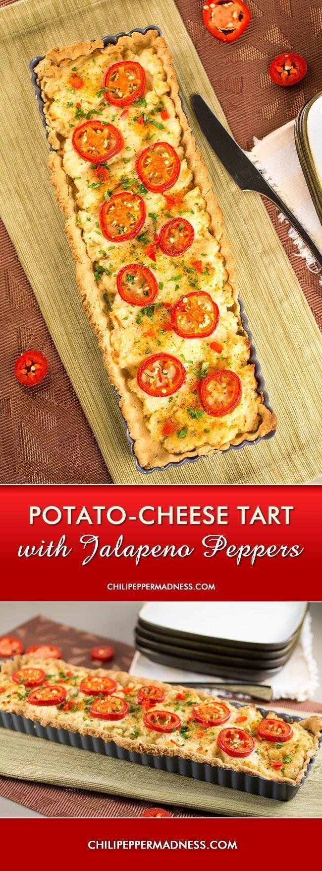 Potato Cheese Tart with Jalapenos