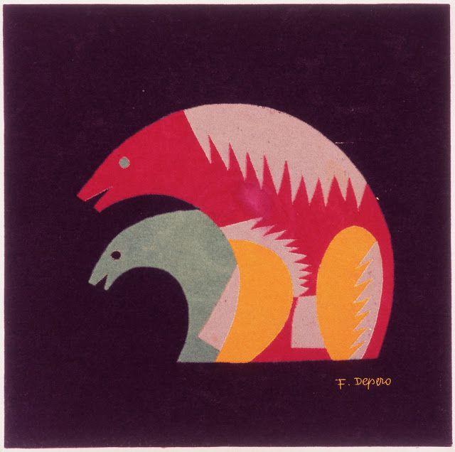 Orsi by F. Depero
