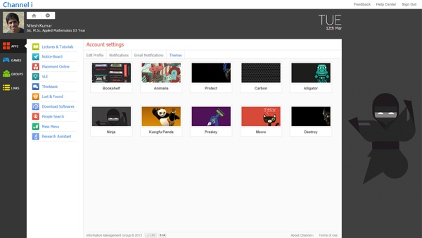 New Channel i on Behance