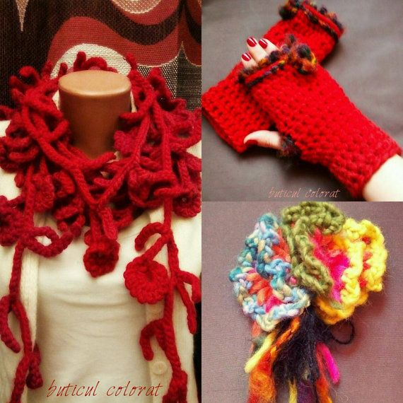 Check out this item in my Etsy shop https://www.etsy.com/listing/262241841/warm-crocheted-set-infinity-loop-scarf