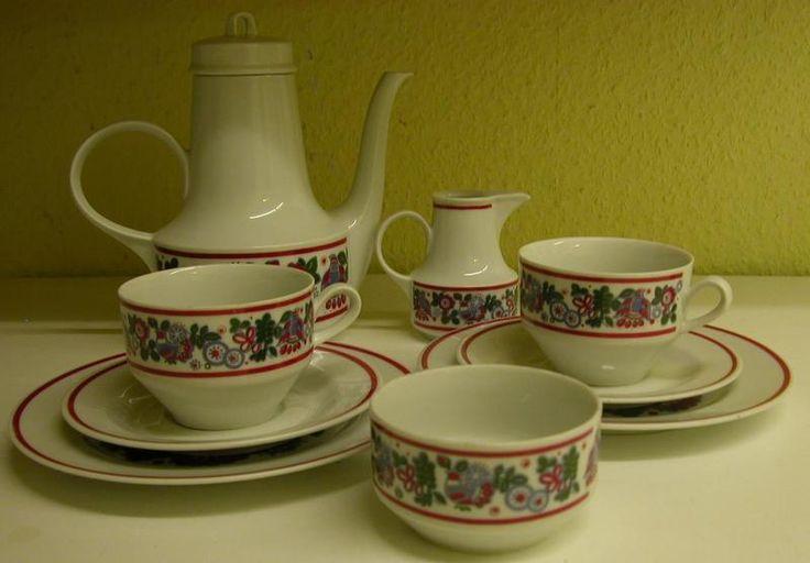 Henneberg Porzellan, DDR, GDR, Vintage Tableware