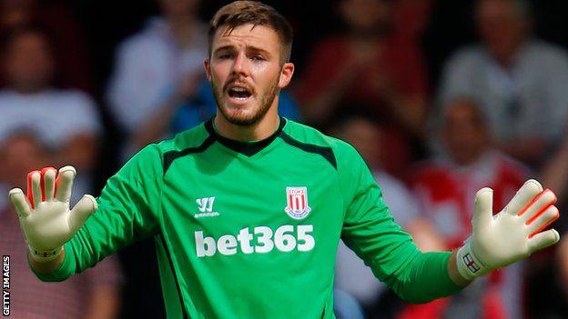 Jack Butland of Stoke City
