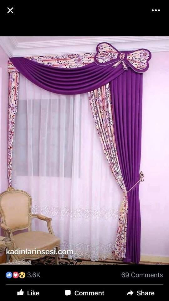 Pin By Nicia Hassell On Isabel Love Idea Curtains Living Room Curtain Decor Curtain Designs