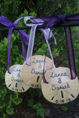 Sand Dollar Wedding Favors