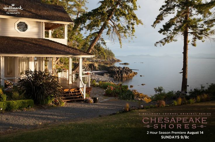 I want to live here in Chesapeake Shores. The beauty of this place is beyond words.