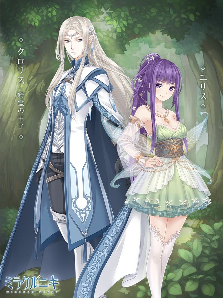 Elf Knight and Faerie