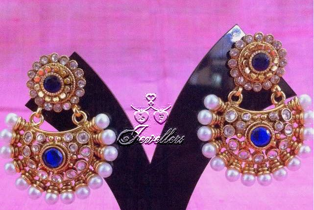 Beautiful earrings. With pearls and stones. https://www.facebook.com/pages/LF-Jewellers/423983984326803