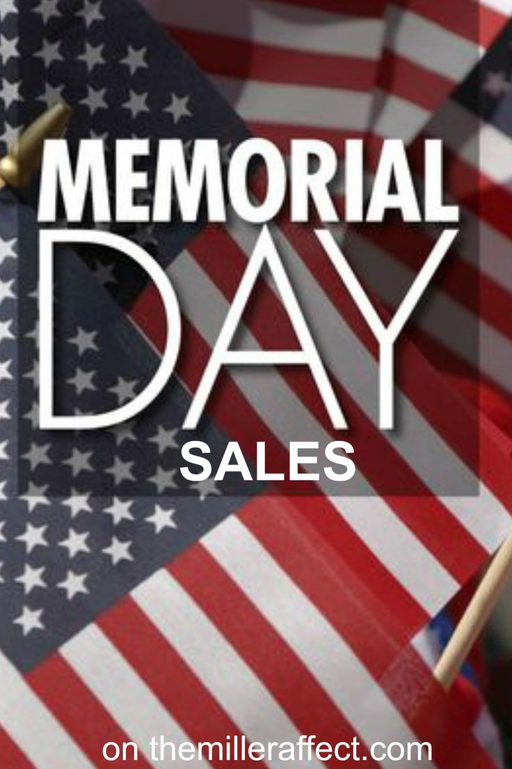 when is memorial day sale 2015
