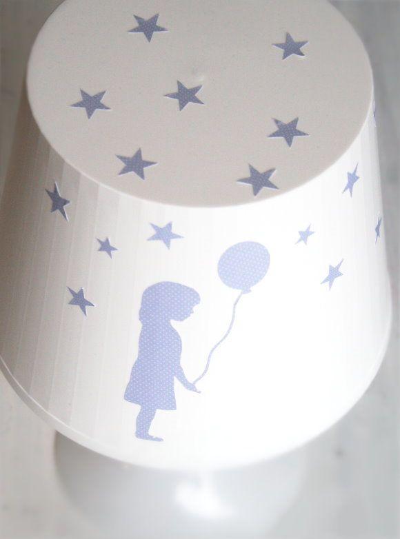 Selbstgestaltete Tischlampe von Ikea (von titatoni) - haaach... <3