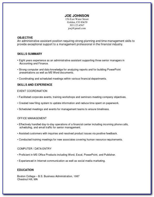 Free Functional Resume Templates Microsoft Word Resume In 2020 Functional Resume Template Resume Template Free Functional Resume