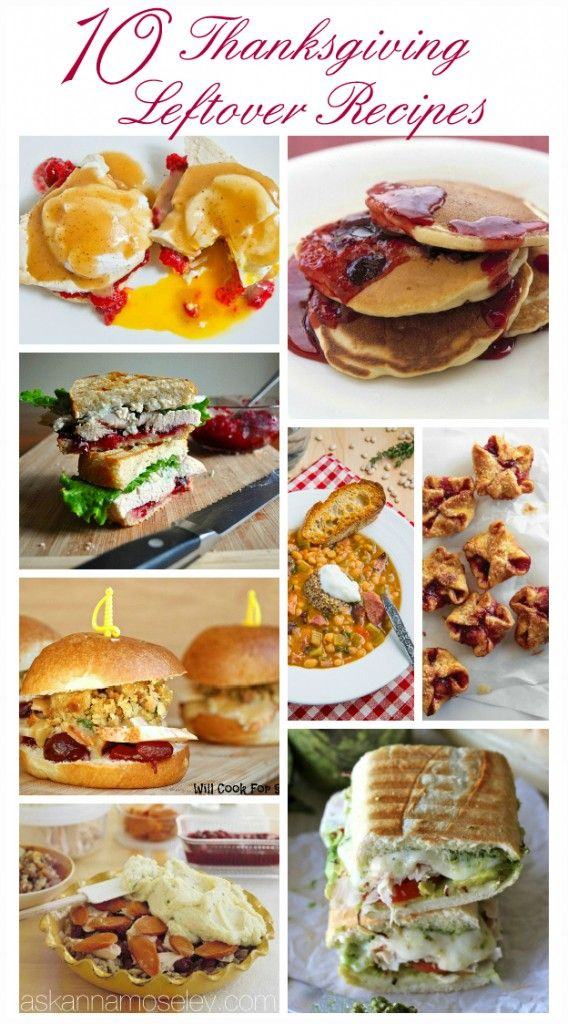 10 delicious ways to use Thanksgiving leftovers -- from Eggs Benedict ...