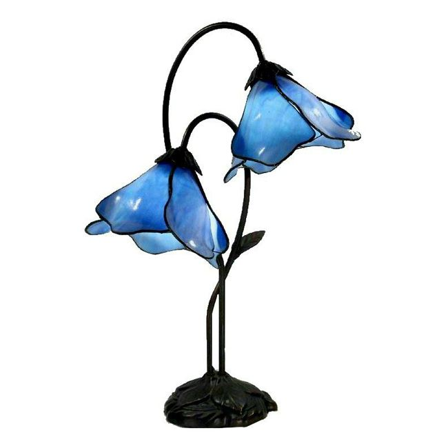 Accent Blue Table Lamp bedroom
