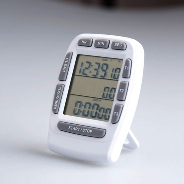 Digital Kitchen Timer three channel electronic timer free shipping homecooked