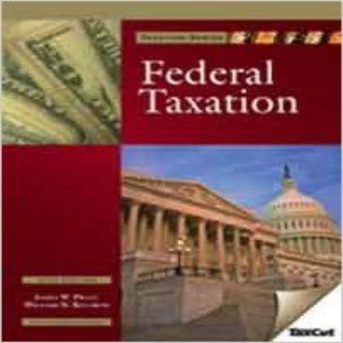 422 best test bank images on pinterest textbook banks and key solutions manual for 2010 federal taxation with hr block taxcut 4th edition by pratt and kulsrud fandeluxe Image collections