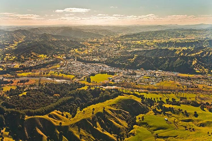 Taumarunui, settled amongst the steep hills of the king country,  see more at New Zealand Journeys app for iPad www.gopix.co.nz