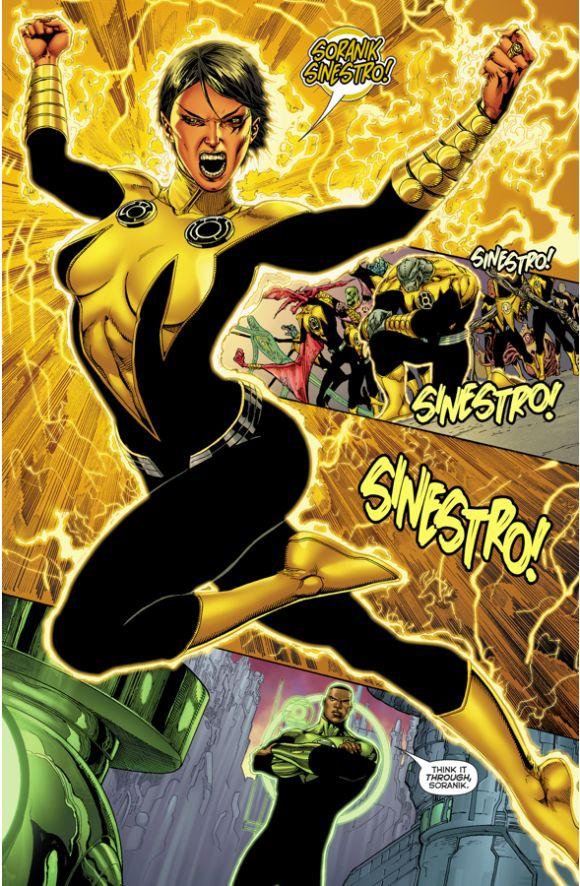 The Green Lantern - Sinestro Corps Alliance Is Dissolved