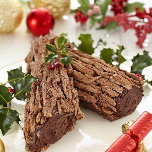 Collect this Chocolate Buche de Noel recipe by Cadbury Kitchen. MYFOODBOOK.COM.AU | MAKE FREE COOKBOOKS