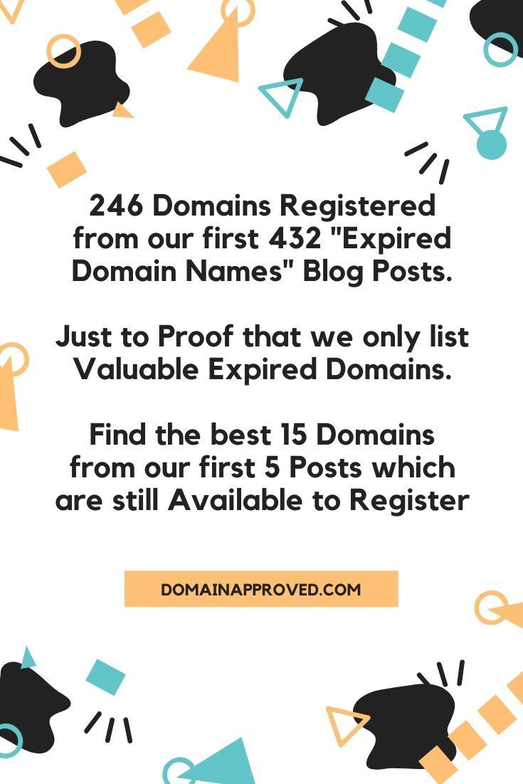 Expired Domain Names The Best So Far How To Start A Blog Blog Social Media