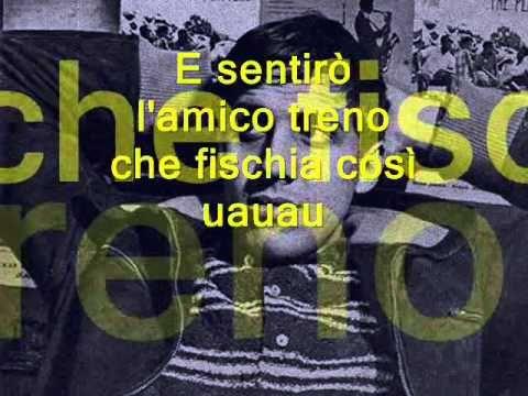il Ragazzo Della Via Gluck ADRIANO CELENTANO Lyric (Learn italian singing) - YouTube