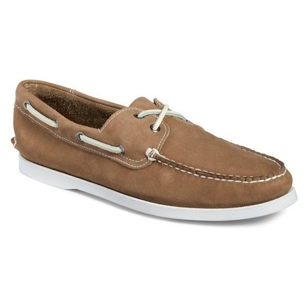 Men's 1901 Pacific Boat Shoe ($80) ❤ liked on Polyvore featuring men's fashion, men's shoes, men's loafers, grey nubuck, 1901 mens shoes, mens topsiders, mens boat shoes, mens deck shoes and mens gray shoes