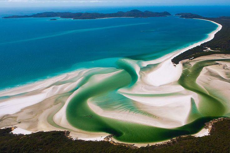 ホワイトヘブン・ビーチ(Whitehaven Beach)/オーストラリア