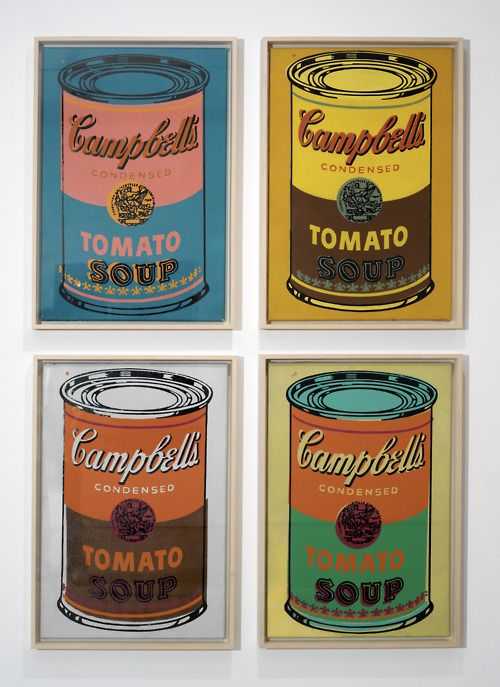 Andy WarholVintage Posters, Pop Art, Campbell Soup, Contemporary Art, Andywarhol, Popart, Andy Warhol, Tomatoes Soup, Soup Cans
