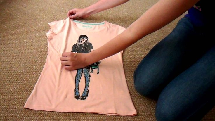 Japanse manier van t-shirt vouwen door Sisier