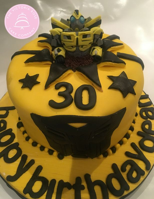 Transformer birthday cake - chocolate sponge and salted caramel filling with fondant icing #sugarcraft #transformercake #30thbirthdaycake #fondanticing #noveltybirthdaycake #noveltycake #birthdaycakeideas