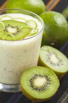 Frullato di Yogurt e vitamina C