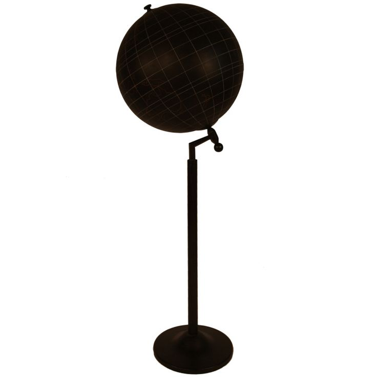 Aviation Training Globe on Steel Stand From Paris   From a unique collection of antique and modern globes at http://www.1stdibs.com/furniture/more-furniture-collectibles/globes/