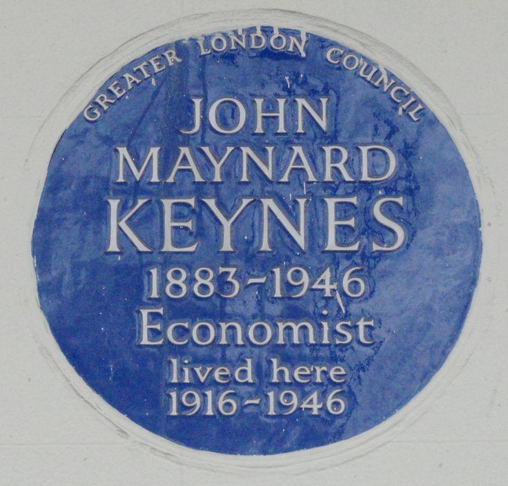 John Maynard Keynes - ECONOMISTA. 46 Gordon Square Bloomsbury WC1H 0PD