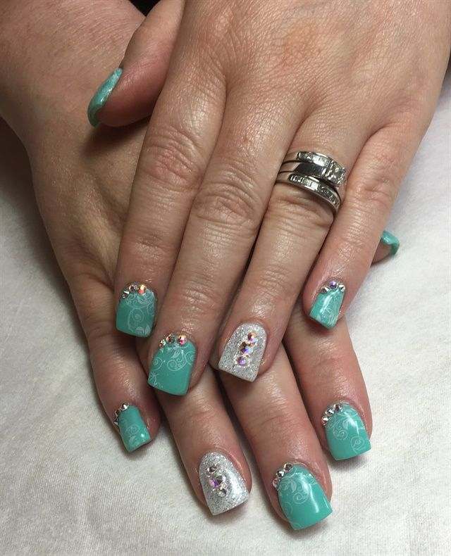 191 Best Images About Bridal Wedding Nail Art On Pinterest