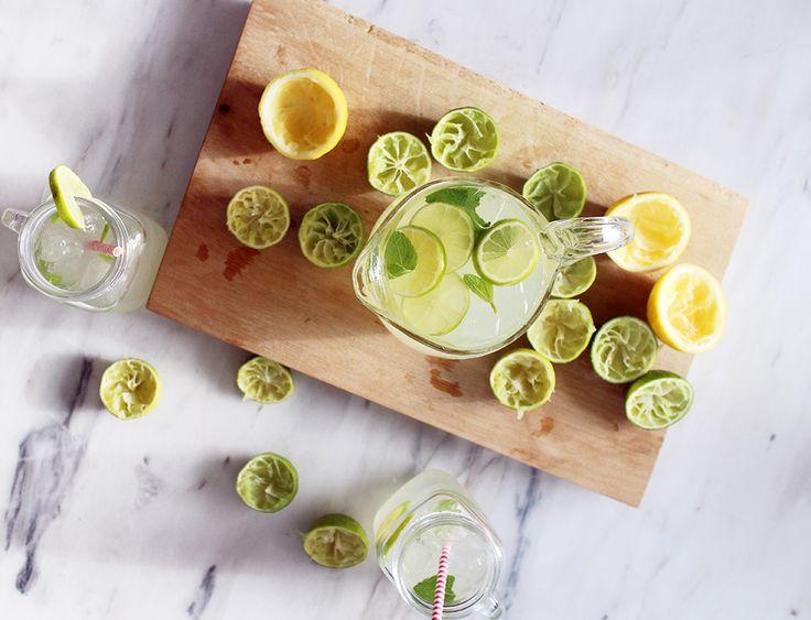 forfriskende-lemonade-med-lime-og-mynte-opskrift